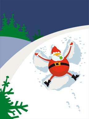 Weihnachts-Illustration
