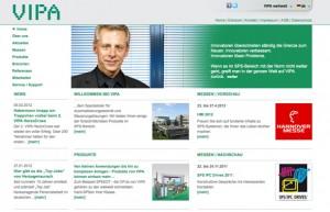 Webdesign für VIPA