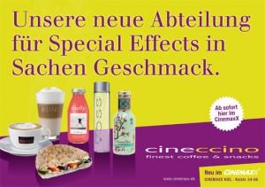 Anzeige für Cineccino