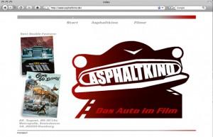 Webdesign für ein Filmfestival in Hamburg