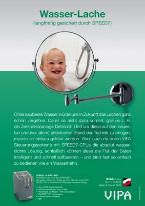 B2B Marketing aus Hamburg für eine Fachanzeige aus Franken