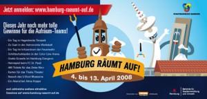 Ein schöner Job für den Illustrator: Hamburg räumt auf