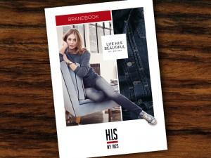 Imagebroschüre und feines Printdesign für H.I.S in Hamburg