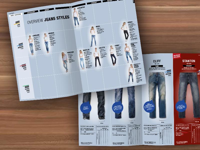 Broschürendesign: der NOS-Folder von H.I.S.