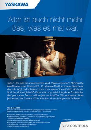 B2B Marketing aus Hamburg: kreative Fachanzeige für VIPA Controls
