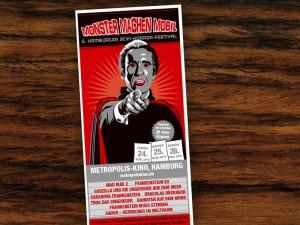 Für ein Filmfest in Hamburg konnte ich diesen Flyer erstellen