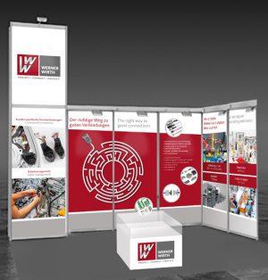 Das Messestand-Design als Teil vom B2B Marketing