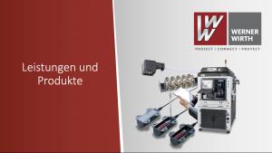 Werner Wirth-Produktpräsentation