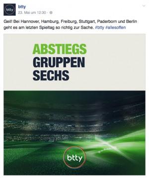 Teaser-Lines zum Abstiegskampf in der Bundesliga.