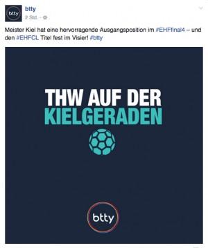 Texte für Social Media Campaign eines Wettanbieters aus Hamburg