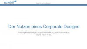 Vortrag über Corporate Design in Hamburg