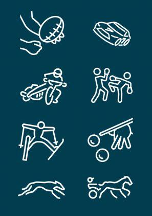 Icon-Gestaltung: Webdesign aus Hamburg für Sportwettenanbieter aus Köln